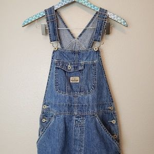 Almost Vintage Old Navy Stone Wash Overalls sz S